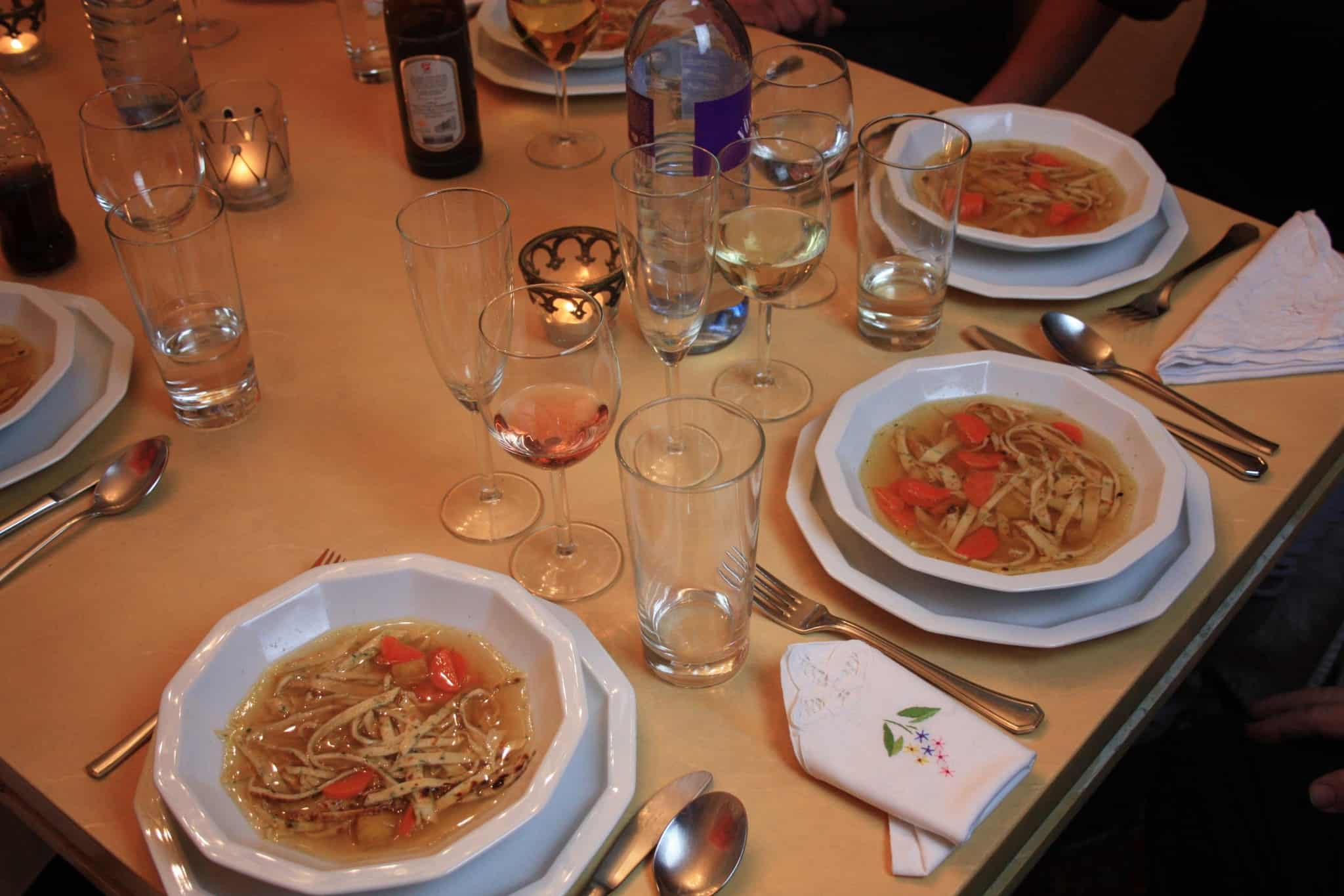 family dinner_schweinsbraten_rindssuppe