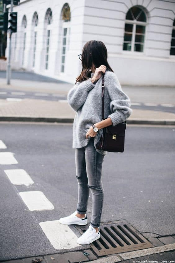 white sneakers outfit15