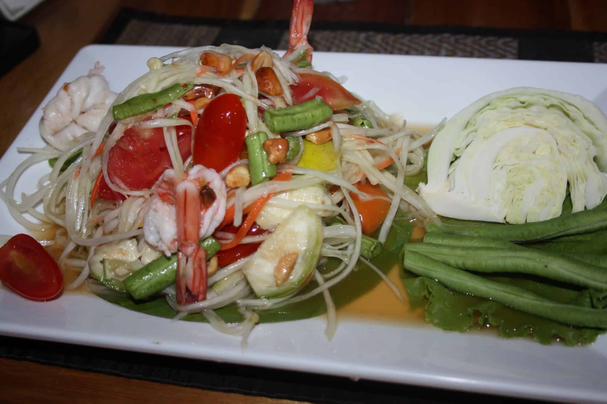 travel diary7 thai food_thai_papaya spicy salad